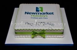 Корпоративный торт # 11