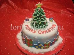Торт на новый год #4
