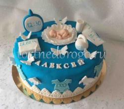 Детский торт # Метрики с малышом