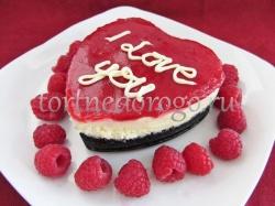Торт на 14 февраля #11