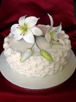 Торт свадебный 1 ярус # 3