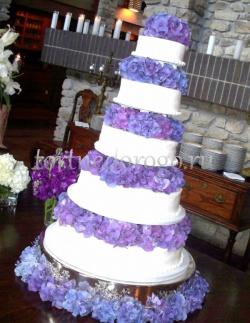 Торт свадебный 5 ярусов # 14