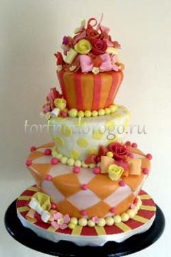 Прикольные торты на свадьбу # 26