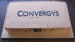 Корпоративный торт # 9