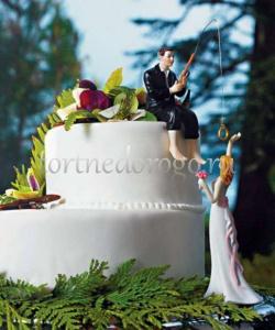 Заказать торт свадебный - Ловец счастья