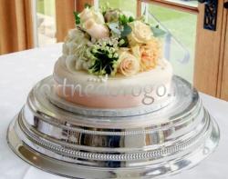 Торты свадебные 1 ярус # 5