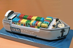 Необычные торты # Танкер