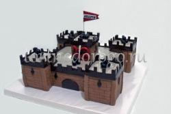 Необычные торты # Крепость