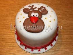 Торт на новый год #6