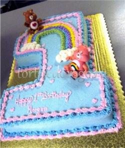 Торт детский цифра #24