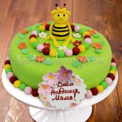 Торты для мамы # Пчелка Майя