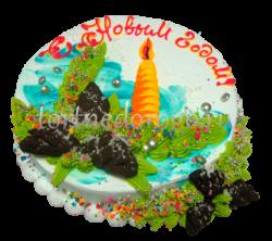 Торт на новый год #19