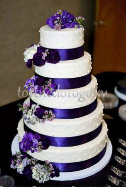 Торт свадебный 5 ярусов # 15