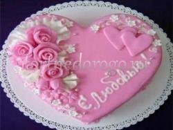 Торт на 14 февраля #24