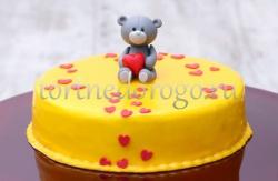 Торт на 14 февраля #27