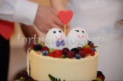 Торт на 14 февраля # Влюбленные