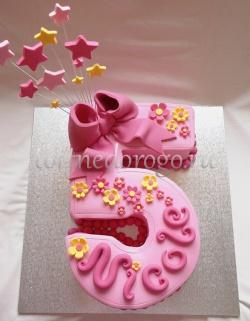 Торт детский цифра #2
