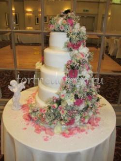 Торт свадебный 5 ярусов # 29