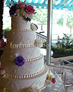 Торт свадебный 5 ярусов # 16