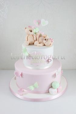 Торт на крестины # 13