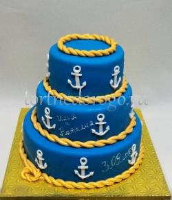 Торт для мужа # Моряку