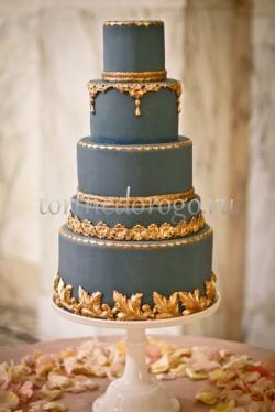 Торт свадебный 5 ярусов # 31