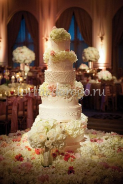 Торт свадебный 5 ярусов # 17