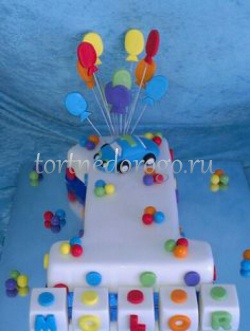 Торт детский цифра #22