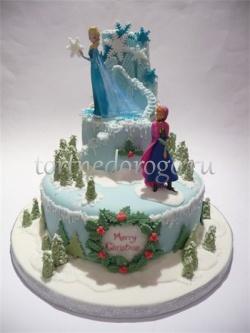 Торт на новый год #12