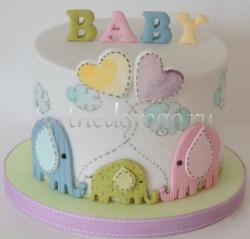 Торт на крестины # 5