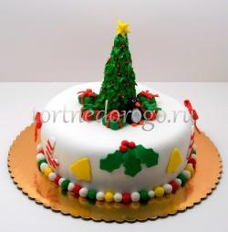 Торт на новый год #20
