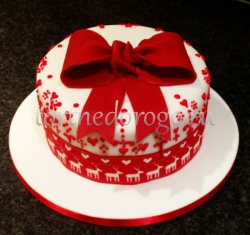Торт на новый год #21