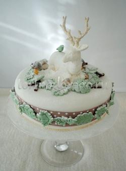 Торт на новый год #22