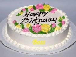 Торт для начальницы # 3