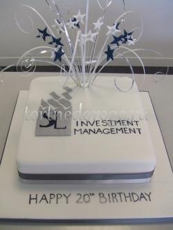 Корпоративный торт # 14