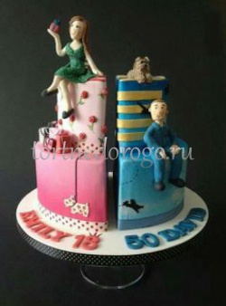 Торт для жены #5