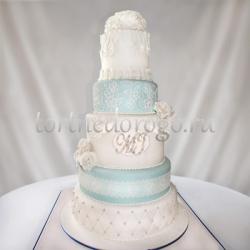 Торт свадебный 5 ярусов # 22