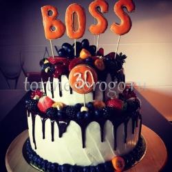 Торт для начальника # 9