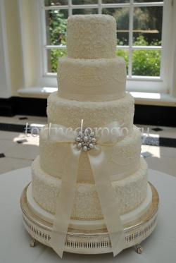 Торт свадебный 5 ярусов # 6