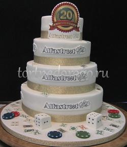 Корпоративный торт # 10