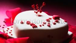Торт на 14 февраля #7