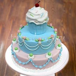 Прикольные торты на день рождения # Пироженое