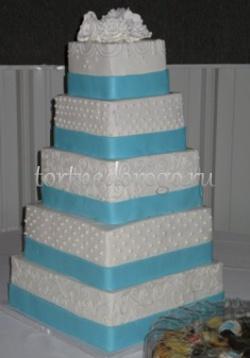 Торт свадебный 5 ярусов # 24
