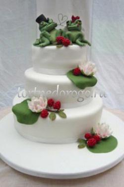 Торт свадебный 4 яруса # Мелодия