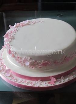 Торты свадебные 1 ярус # 32