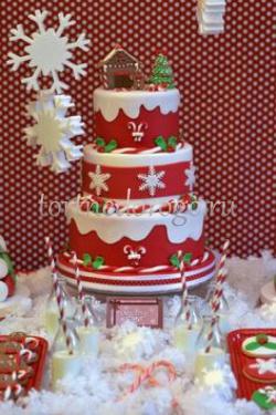 Торт на новый год #14