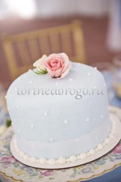 Торты свадебные 1 ярус # Лямур