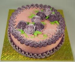 Торт без мастики # Цвета