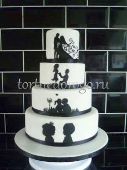 Прикольные торты на свадьбу # 24
