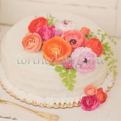 Торты свадебные 1 ярус # Любава